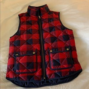 J.Crew puffer quilted down vest